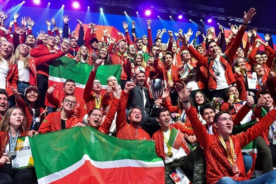 Татарстан занял первое место на чемпионате