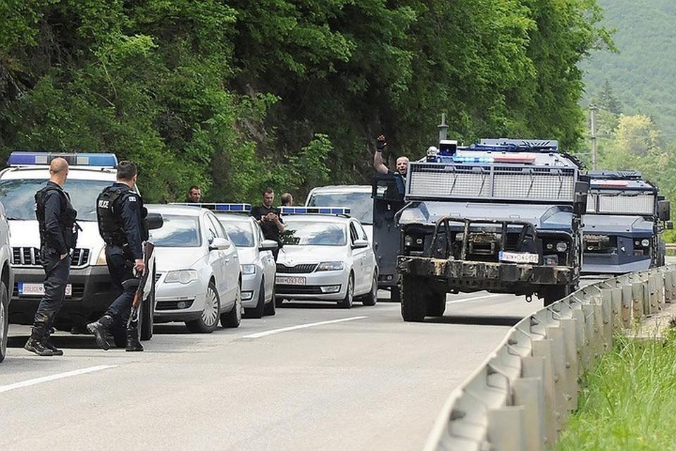 28 мая на севере Косово и Метохии спецназ непризнанной республики начал задержание сербских граждан