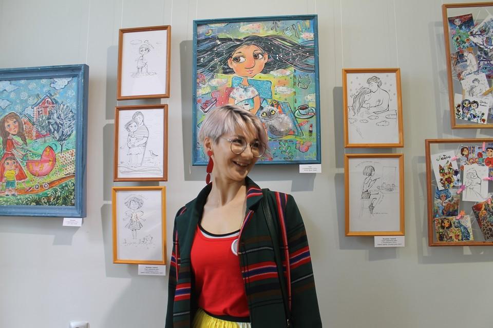 Анна Тюрина и её работы.