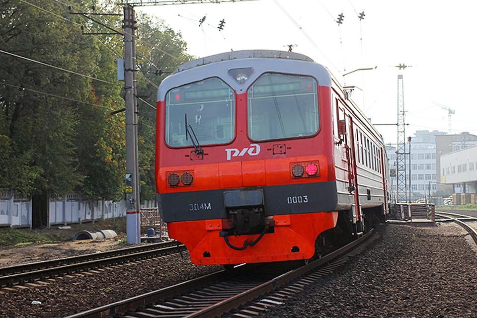 Электропоездом сообщением на Москву травмированы трое граждан