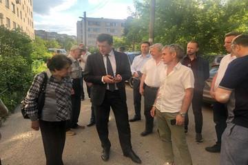 Глеб Никитин встретился с пострадавшими при взрывах в Дзержинске