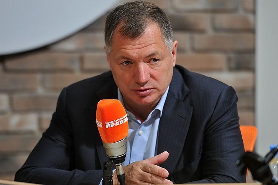 Заместитель мэра Москвы по градостроительной политике и строительству Марат Хуснуллин в гостях у Радио «Комсомольская правда»