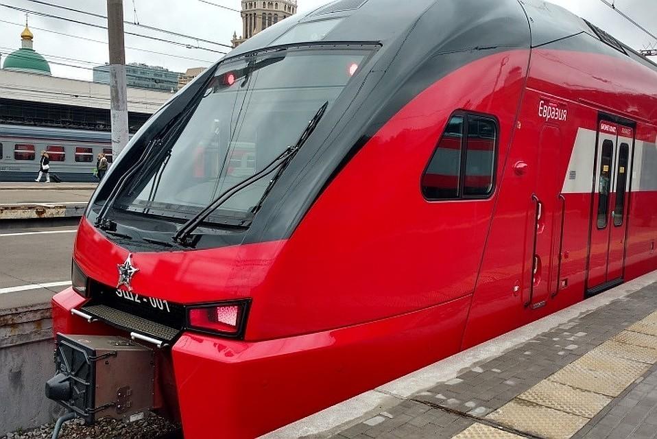 Tuyến đường sắt cao tốc Moscow-Petersburg được định giá 1,5 nghìn tỷ rúp.
