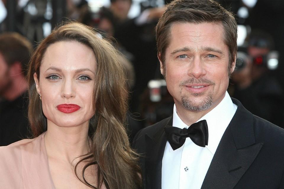 Брэд Питт с боем получал развод у Анджелины Джоли