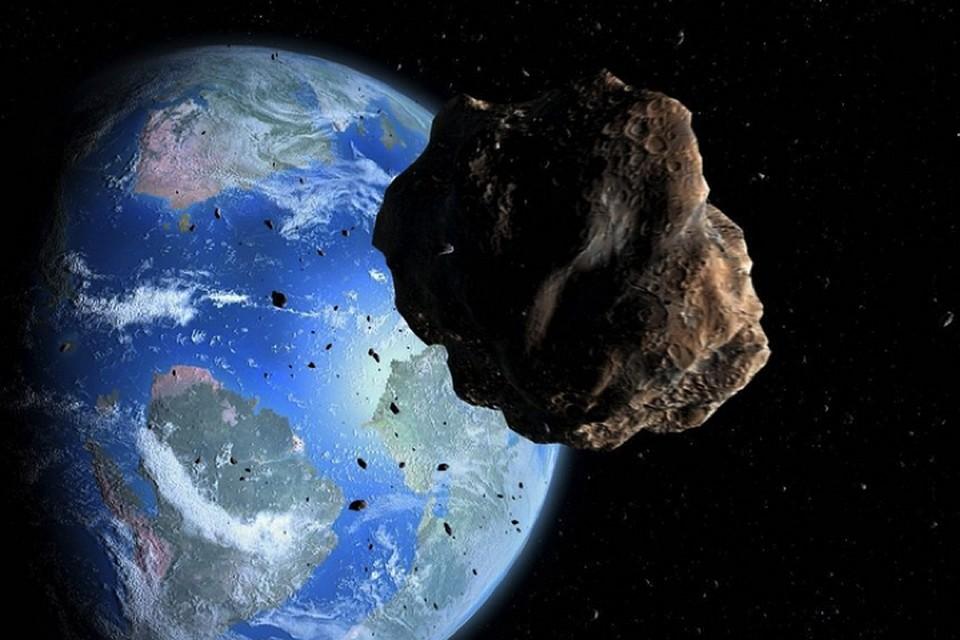Опасный астероид уже на подлете.