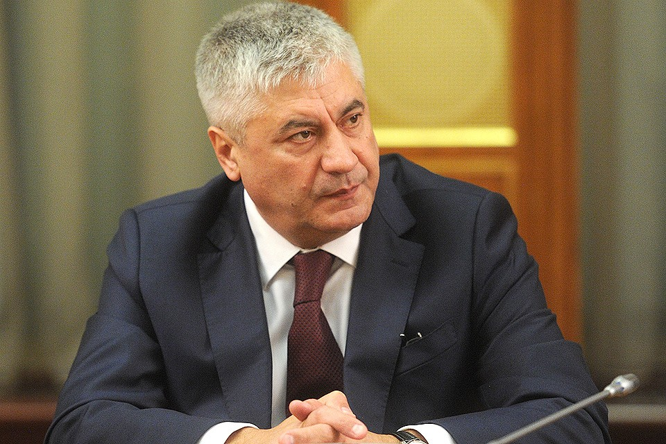 Глава МВД Владимир Колокольцев.