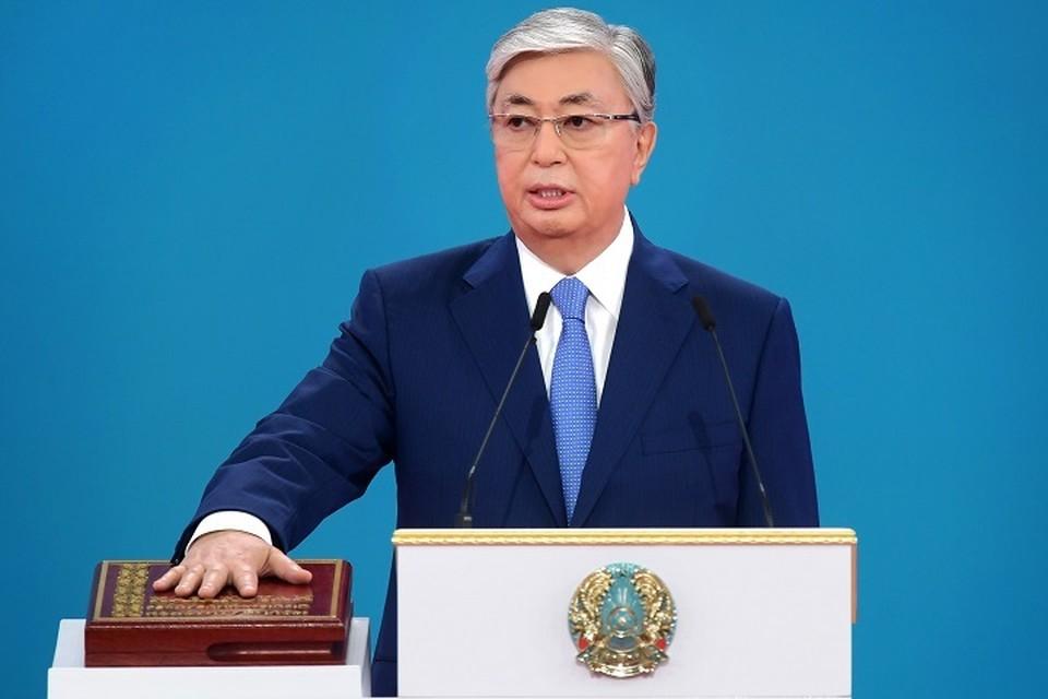 Я хочу поблагодарить народ Казахстана за оказанное мне огромное доверие и поддержку