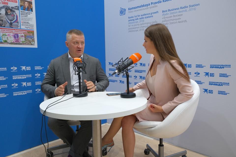 Генеральный директор ОЭЗ «Технополис «Москва» Игорь Владимирович Ищенко