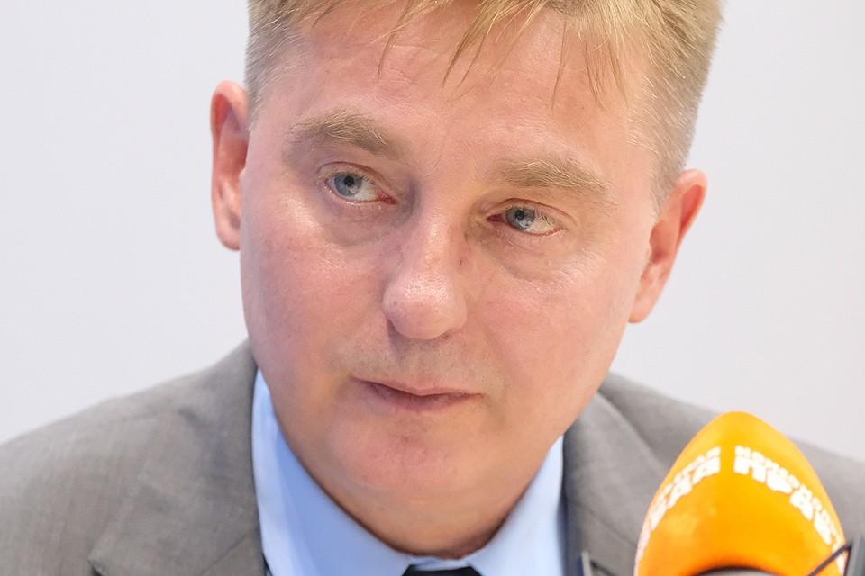 Глава Департамента природопользования и охраны окружающей среды города Москвы Антон Кульбачевский.