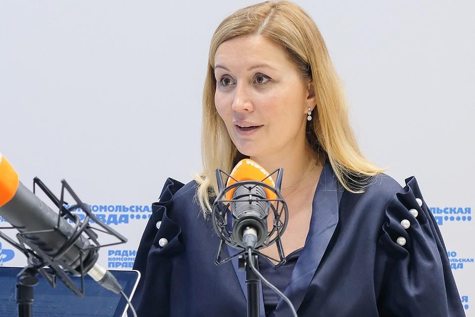 Гендиректор Агентства стратегических инициатив Светлана Чупшева.