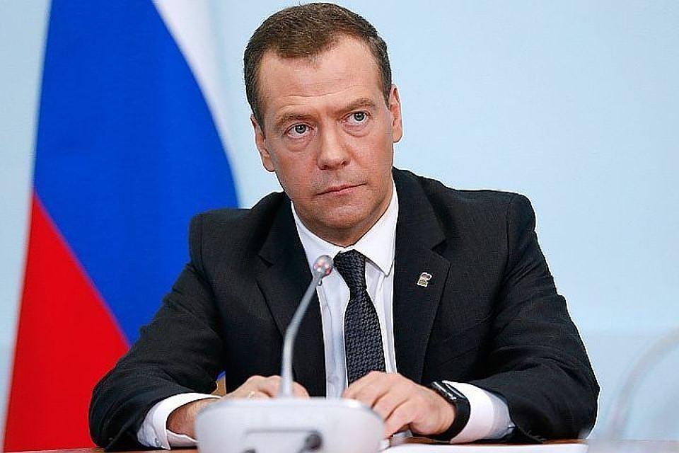 Премьер-министр России Дмитрий Медведев. Фото: Дмитрий Астахов/ТАСС/Пресс-служба правительства