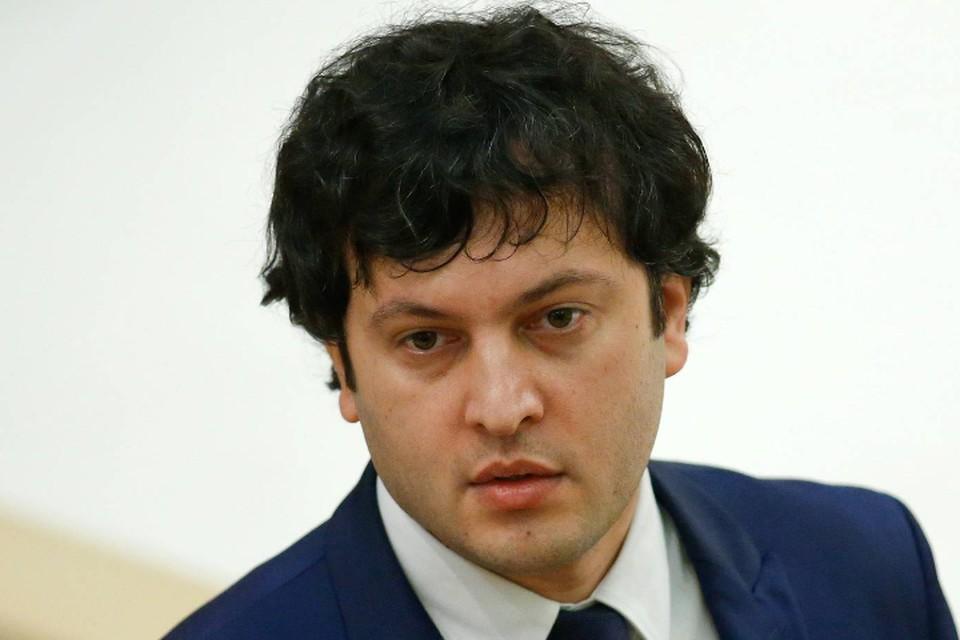 Глава парламента Грузии Ираклий Кобахидзе