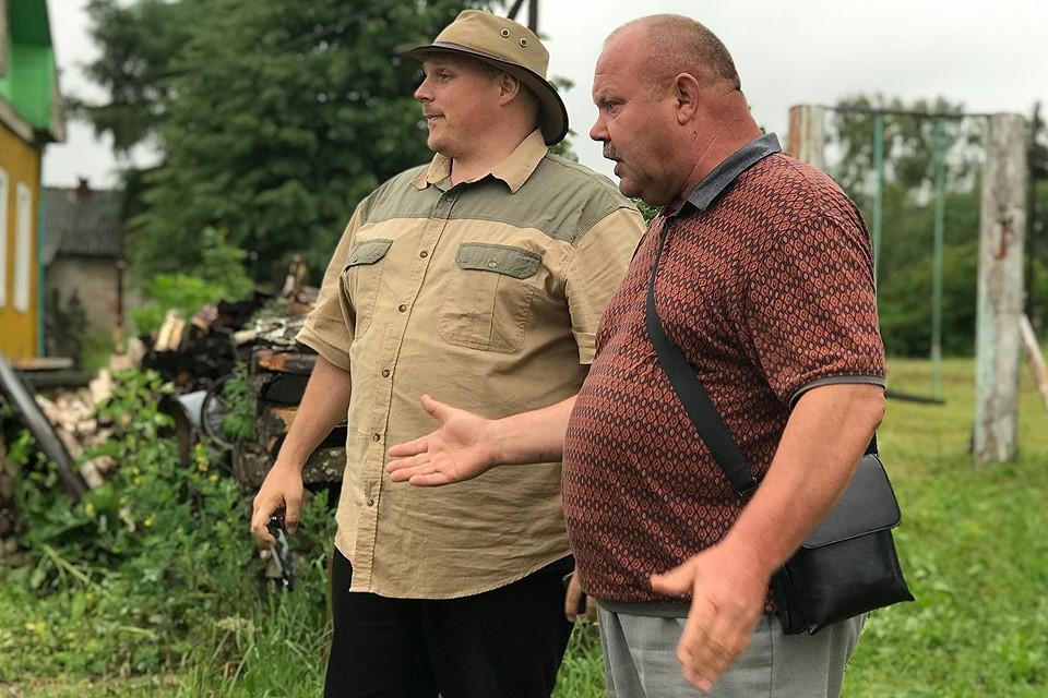 Глава сельскохозяйственного отдела Евгений Ермолаев в деталях рассказывал потомственному буру Йоханну дю Туа, как выращивать в Ивановской области рожь.