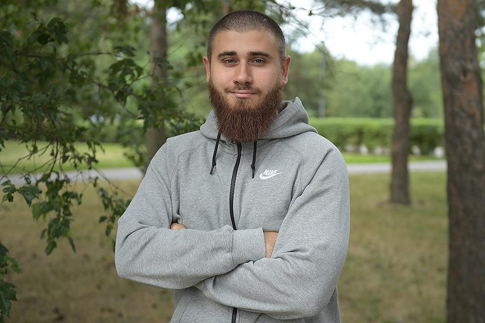 Лидер движения «Лев против» Михаил Лазутин.