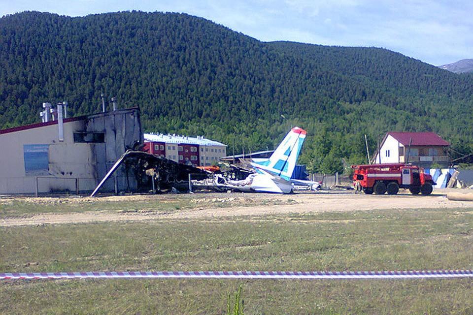 Авиакатастрофа в Бурятии. ФОТО: Геннадий Лыткин.