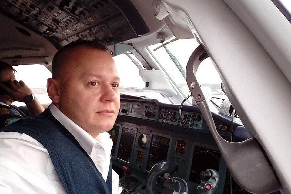 Второй пилот разбившегося лайнера Сергей Гамбарян