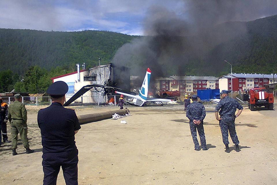 Крушение АН-24 в Нижнеангарске: что известно на данный момент. Фото очевидца Геннадия Лыткина