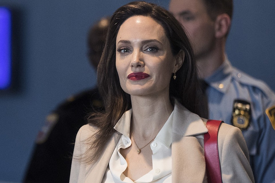 Актриса Анджелина Джоли в марте 2019 г.