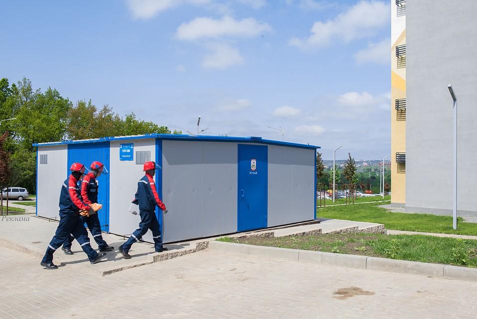 79dbaaf9e565b В Белгородском районе энергетики обеспечивают электроснабжение школы