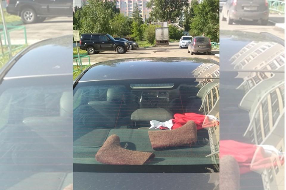 Суровое уральское лето. Фото: vk.com/podslushano_kop