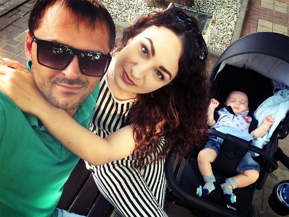 У Кристины и Ахмеда есть маленький сын