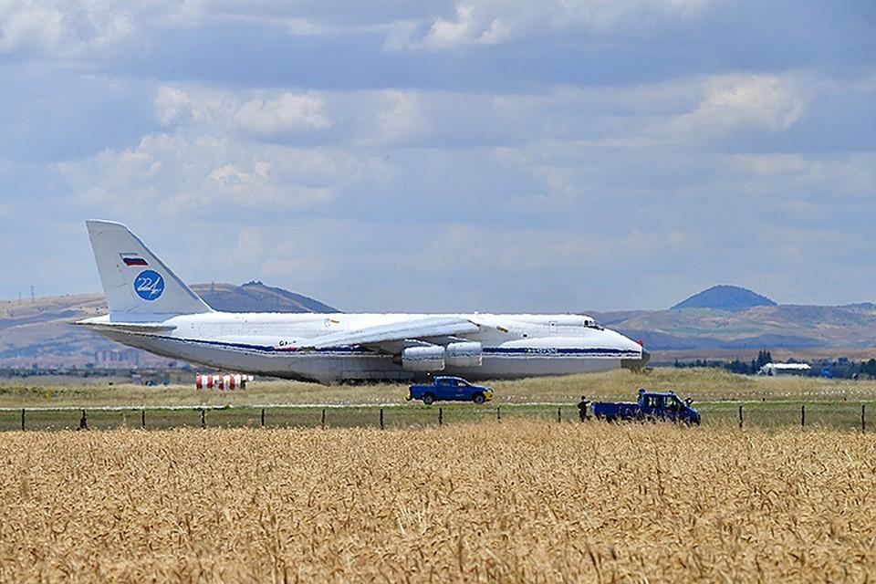 Россия поставила в Турцию еще одну партию элементов зенитных систем С-400
