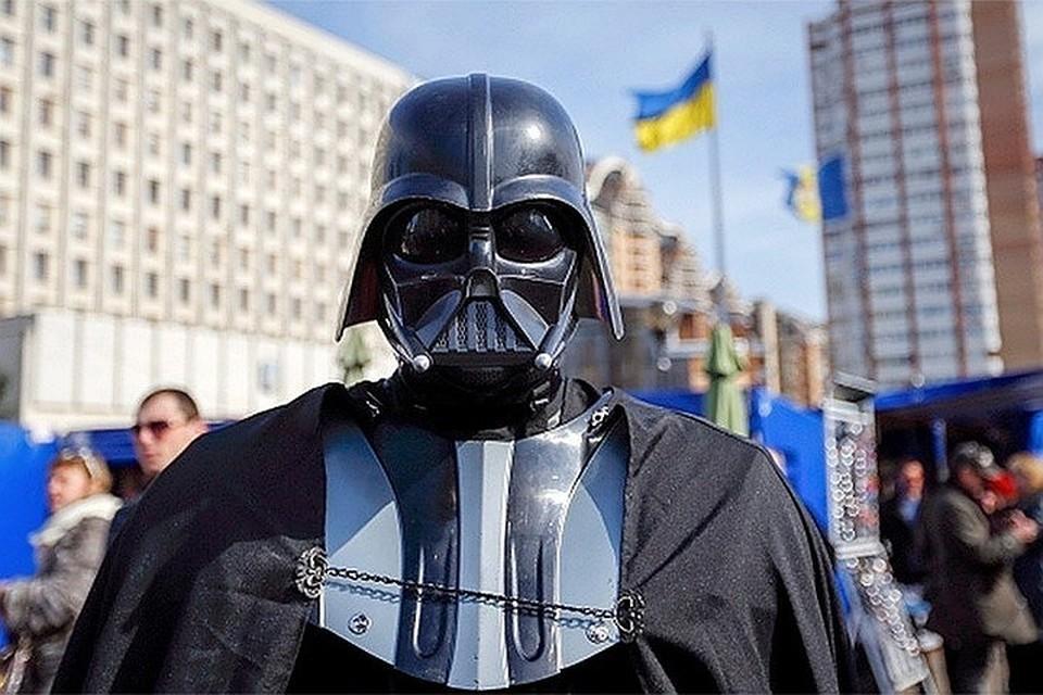 Среди кандидатов в депутаты Верховной рады Украины есть и Дарт Вейдер