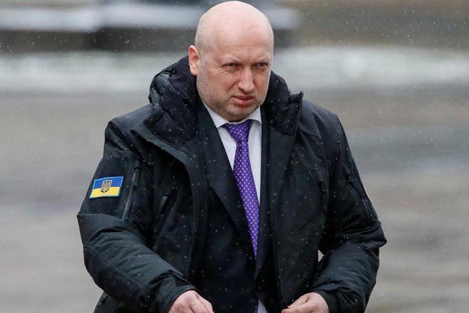 Экс-секретарь СНБО Украины Александр Турчинов