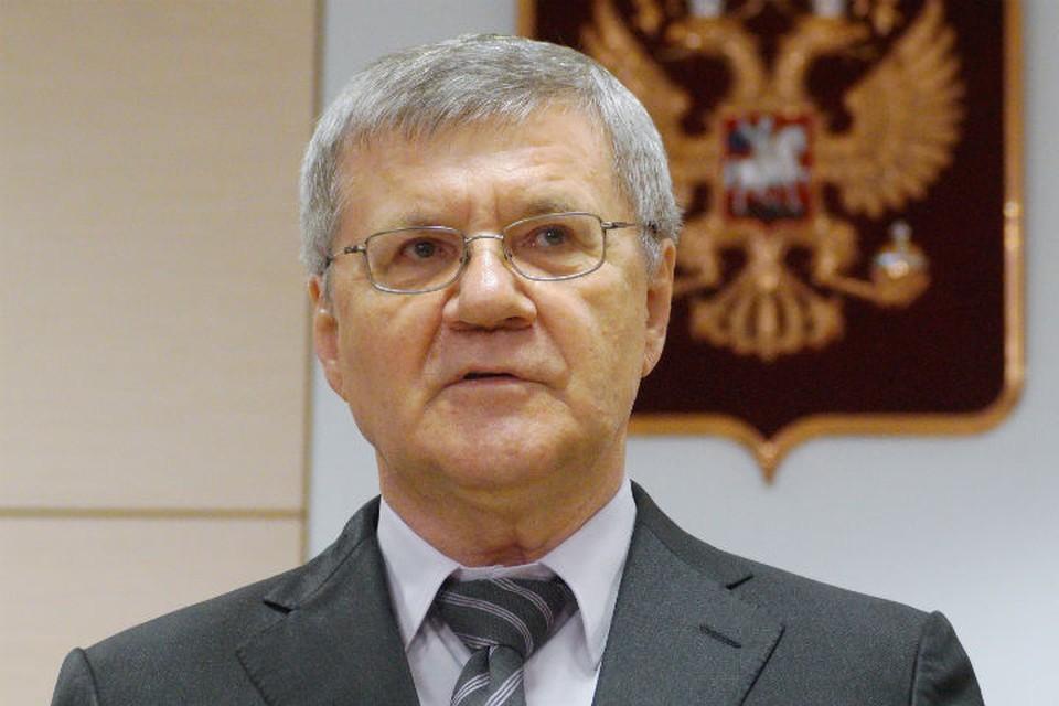 Генпрокурор России Юрий Чайка приедет в Иркутскую область 17 июля