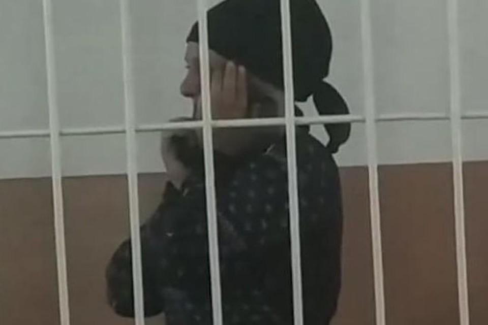 Мака Ганиева за решеткой