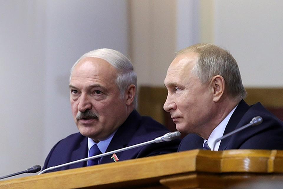 Президенты обсудили стратегию дальнейшей интеграции России и Белоруссии