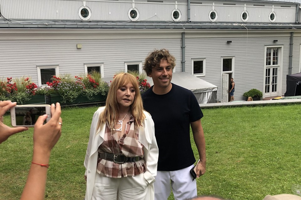 Алла Пугачева со своим мужем юмористом Максимом Галкиным
