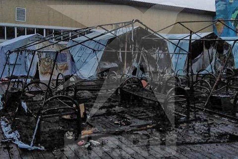 Число погибших при пожаре в детском лагере в Хабаровском крае выросло до трех человек.