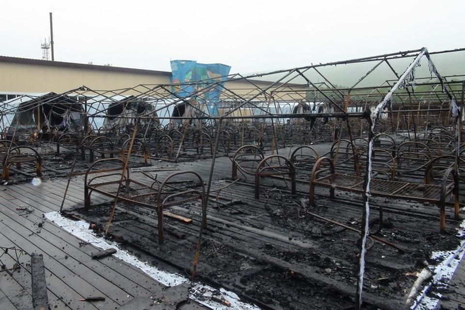 «Негорючие» палатки лопались как огненные шары: начальник лагеря о пожаре в «Холдоми» в Хабаровском крае