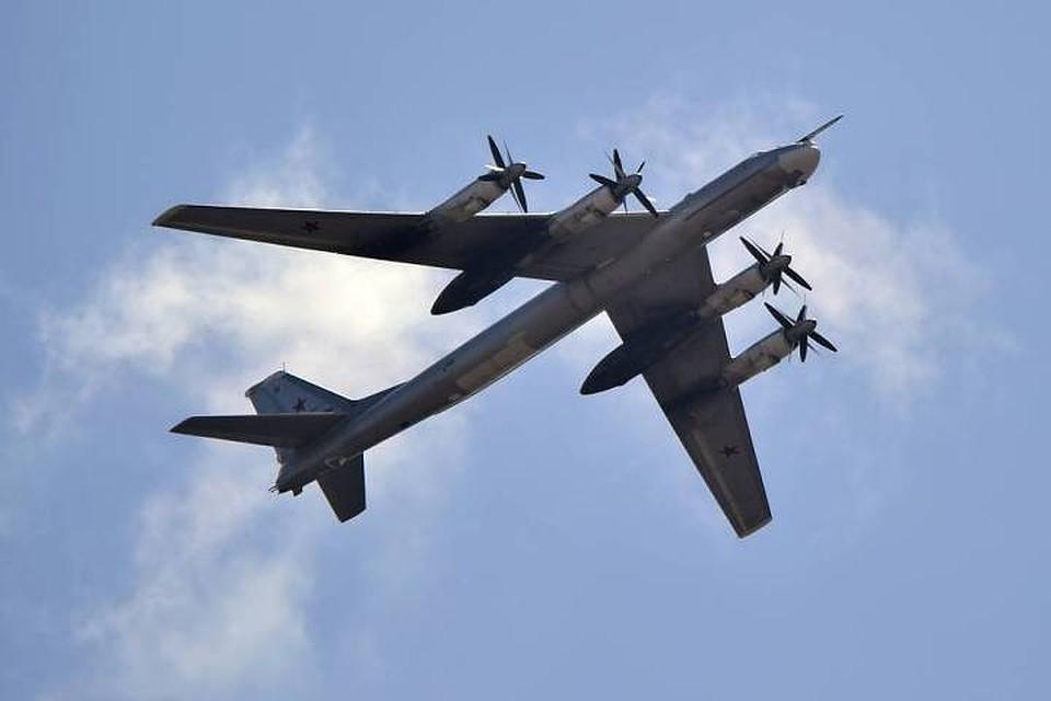 Российский стратегический бомбардировщик Ту-95. Фото: Юрий Смитюк/ТАСС