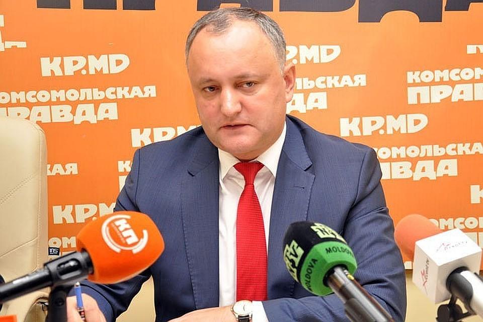 Президент Игорь Додон: Главное для будущего Генпрокурора – расследование по фигурантам Kroll, коррупции и узурпации власти