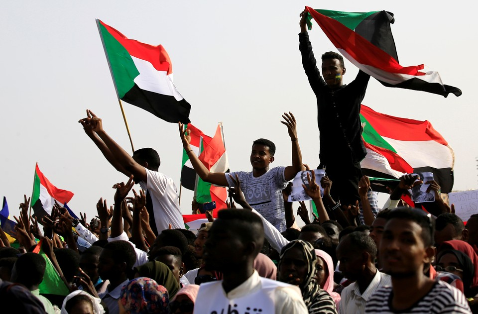 Во время мирной демонстрации в Судане убиты пять человек