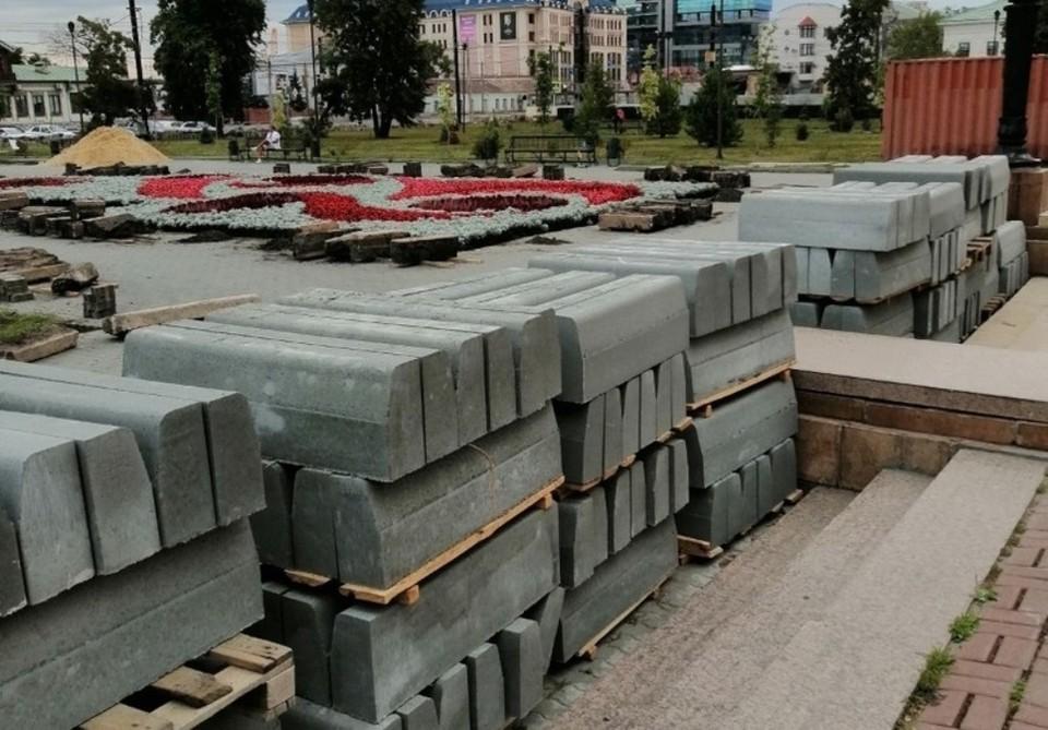 Что лучше: бетон или гранит? Фото: Павел Зыльков.