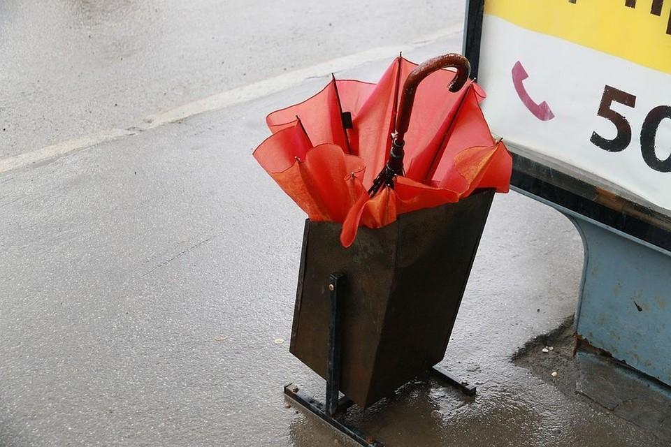 Синоптики передают дождь, град и ветер.