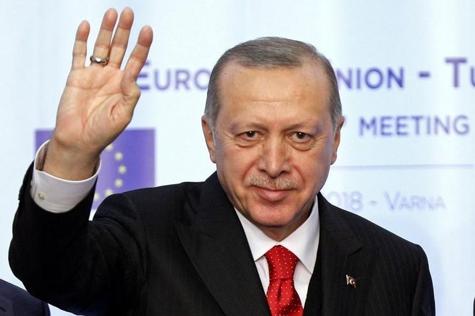Эрдоган выразил уверенность, что полуостров когда-то вернется в состав незалежной
