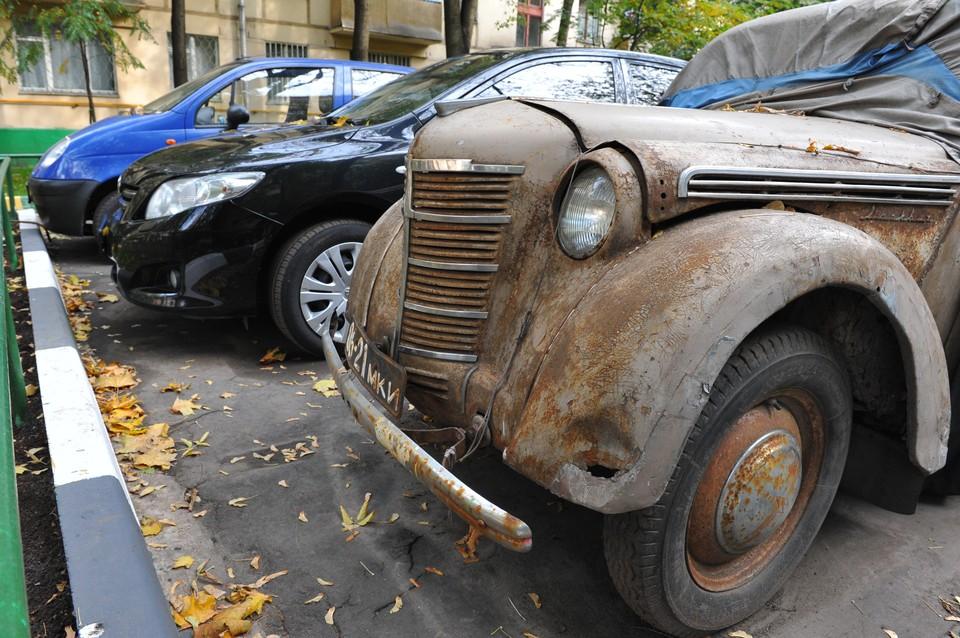 В Госдуме предложили запретить использование старых машин