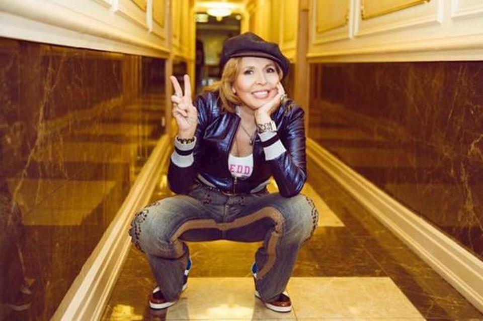 Рок-звезда поделилась детскими воспоминаниями в своем Инстаграме.