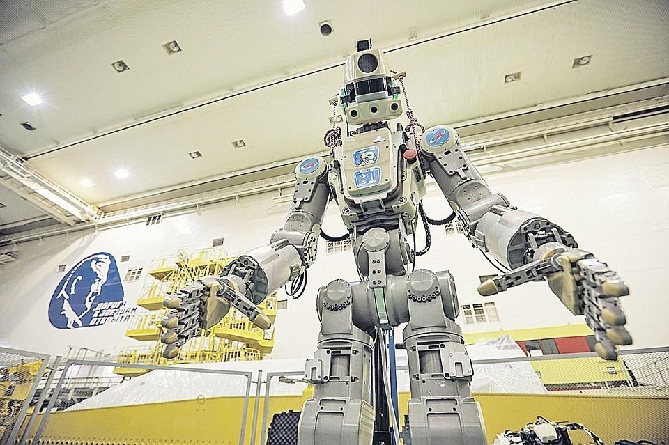 Робот Федор отправился в космос. Фото: пресс-служба Роскосмоса