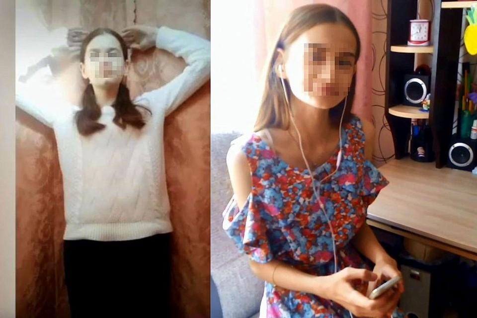 Фотографии Саши с разницей в несколько месяцев. Девочка считала, что на фото слева она толстая. Впрочем, и на фото справа она себе все еще не нравится.
