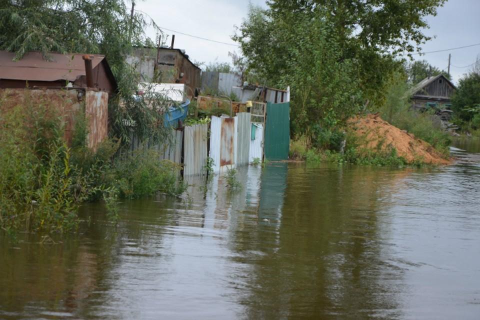 Очередная порция дождей усугубит и без того неблагополучную паводковую ситуацию в Комсомольске