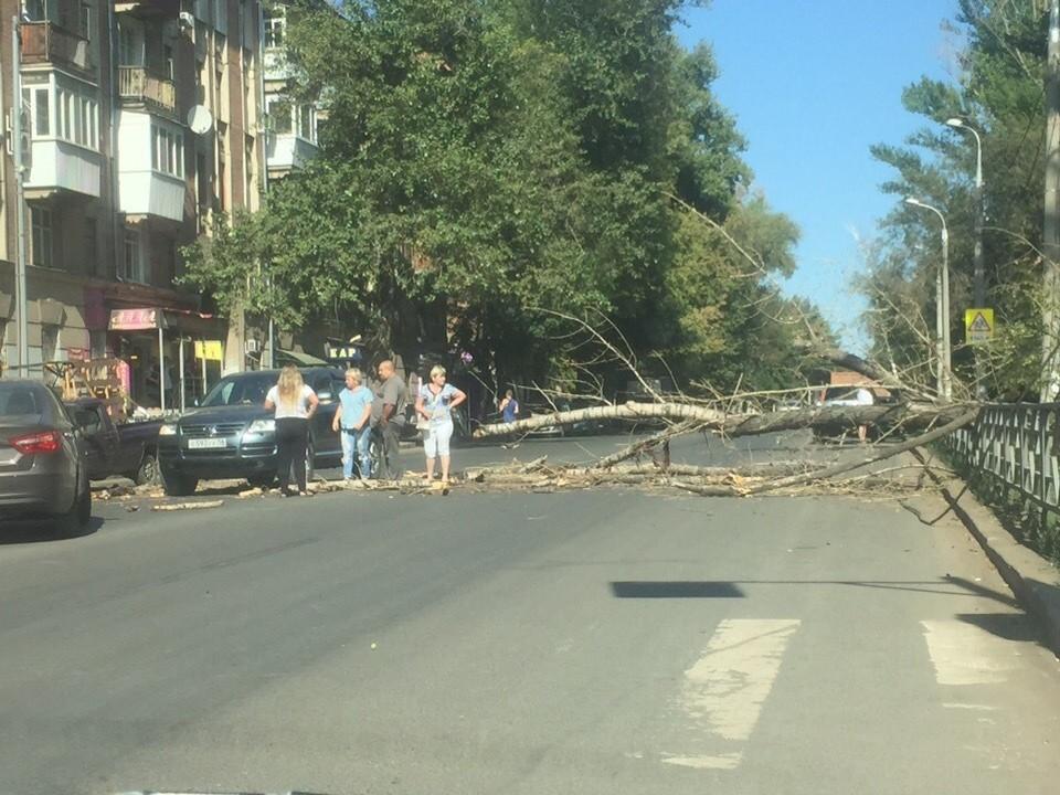 Очевидцы сделали фото с места событий. ФОТО: Подслушано Самара