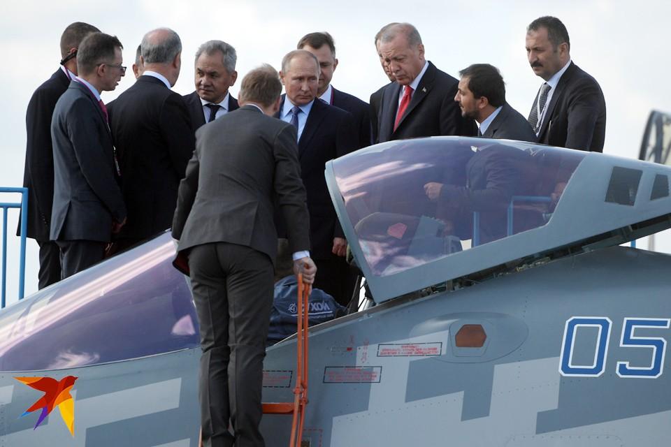 Президент Турции оценил российскую военную новинку