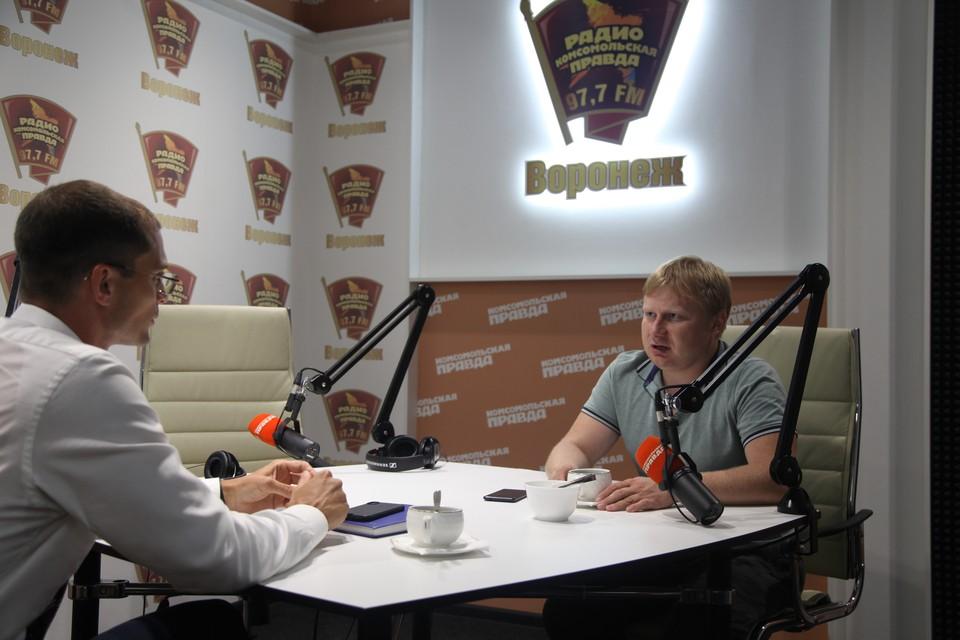 Владимир Георгиевский и Виталий Иванищев.