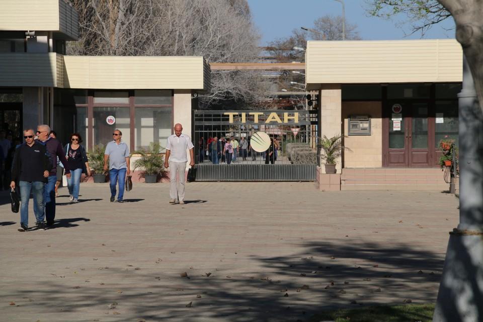 На заводе «Крымский Титан» на 50% снизили мощность одного из цехов.