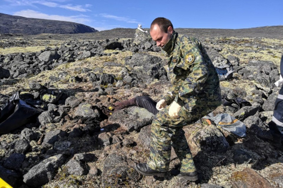 Пропавшего мужчину нашли мертвым на камнях в тундре. Фото: СКР по Мурманской области